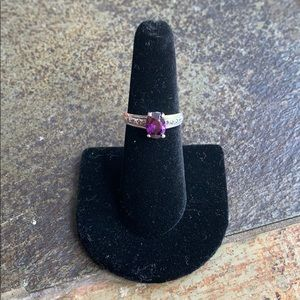 .925 Sterling Silver Marcasite Ring